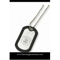 China quality custom etched stainless steel dog tag for gifts on sale