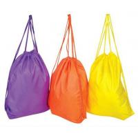 Buy cheap Plain packing polyester cheap drawstring bag product