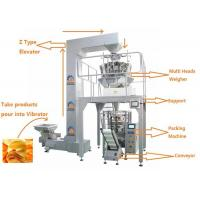 Buy cheap Automatic Weighing Filling Sealing Multi Heads Weigher Food Packing Machine product