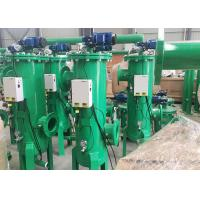 Buy cheap OEM Self Cleaning Sediment Water Filter , Green Color Sand Water Filter product