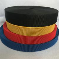 Quality High Strength Malaysian Rubber Elastic Webbing Bands Color Blue for Outdoor for sale