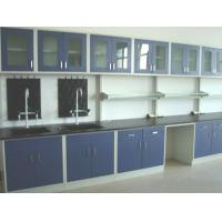 Buy cheap Wood Chemistry Lab Furniture 16 Mm Chipboard Cabinet Easy Operating product