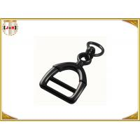 Buy cheap Zinc Alloy Metal Shoe Buckles Clips With D Ring Custom Black Color product