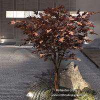 Buy cheap UV Protection Artificial Maple Tree Made Of Epoxy Resin , Fiberglass Durable product