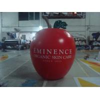 6ft High Apple Fruit Shaped Balloons For Exhibition Display , Inflatable Hanging Balloon