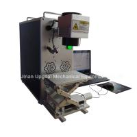 Quality Portable Fiber Laser Marking Machine for Metal Materials Marking for sale