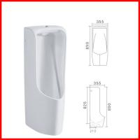 Buy cheap discount ceramic jet water standing male hanging corner urinals toilet product