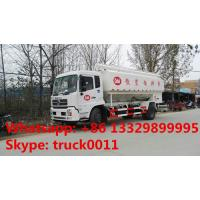 hydraulic system bulk feed delivery truck for sale, 20cbm poultry feed tank truck for sale