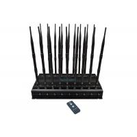 Buy cheap 18 Channels Mobile Phone Signal Jammer Block All GPS Signals 42W High Power product
