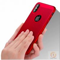 Buy cheap Heat dissipation Mesh Rubberized Hard PC phone back cover for iphone X case product