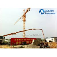 Quality Remote Control Topkit Hammerhead Tower Crane ,  4 Ton 47m Luffing Boom Tower Crane for sale