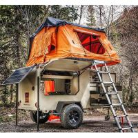 Buy cheap Easy Installation Roof Rack Awning Tent , Breathable Car Awning Tent For 3 Person product