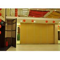 Star Hotel Acoustic Exterior Sliding Door Folding Internal Doors For Hotel