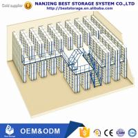 China Factory price Multi-level warehouse storage mezzanine racking system ISO9001 and CE certificated on sale