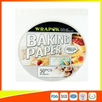 Buy cheap Food Baking Paper Sheets Kitchen Perforated Parchment For Household product