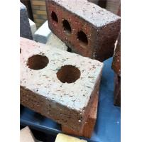 Buy cheap Turned Color Exterior Brick Veneer For Building Construction 65mm Thickness product