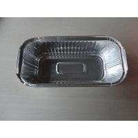 Stamp forming Aluminum foil roasting pan / Aluminum Foil Tray With Lid For Meal Pack