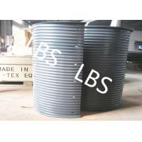 Buy cheap Hydraulic / Electric Winch Drum Lebus Sleeve 100-5000M Rope Capacity product