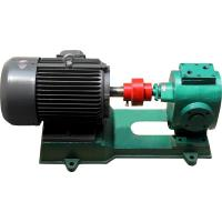 Buy cheap heat jacket asphalt gear pump industrial pump high viscous fluid pump bitumen from wholesalers