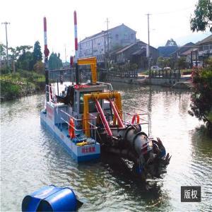 Buy cheap 35m Length 1142kw 20m depth Gold Dredge Boat 25m River Dredging Machine product