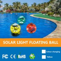 China Solar Powered Color Changing LED Glow Globe Pool Night,Lamp,Outdoor Solar Floating Ball Pool Lights For Garden on sale