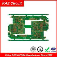 Buy cheap 4-10 layers FR4 HDI Printed Circuit Boards Blind holes Burried holes impedance control BGA product