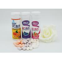 Buy cheap Fruit Flavor Vitamin C Effervescent Tablets Dietary Fiber Supplements product