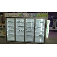 Buy cheap Automatic Defrost Commercial Beverage Cooler / Walk In Fridge Freezer With Glass from wholesalers