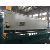 Buy cheap Width Full Automatic Hydraulic  Guillotine Shearing Machine For Steel Plate 2500 mm product
