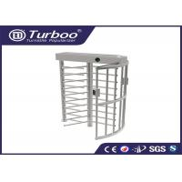 Quality Workshop Manual Full Height Turnstile Self Resetting Function ISO9001 CE Certificate for sale