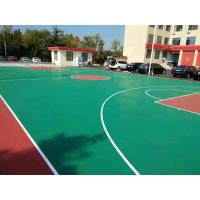 PU Synthetic Basketball Court Flooring Surface Polyurethane Resin Material