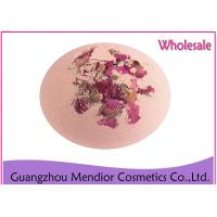 Buy cheap Rose Fragrance Natural Bath Bombs Whitening Essential Oil Bath Salt Ball product
