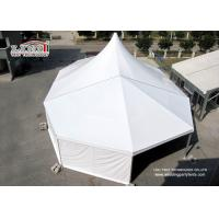 500 People White PVC Roof Cover High Peak Tent With Solid Aluminum Frame For Event
