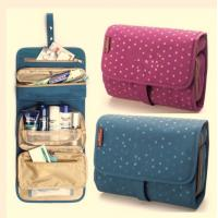Buy cheap Colorful Travel Travel Makeup Bag , Cosmetic Rolling  Travel Bags For Women product