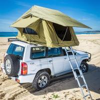 Buy cheap Aluminum Pole Pick Up Roof Tent , Jeep Wrangler Unlimited Roof Top Tent from wholesalers