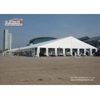 Buy cheap White Waterproof Translucent Portable Second Hand Marquee Tents Heavy Duty with 40m Width product