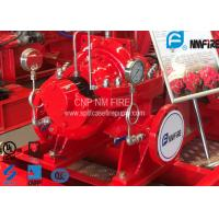 Buy cheap UL FM Approved Horizontal Split Case Fire Pump 500GPM / 312 Feet NFPA20 Standard product