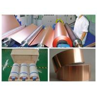 Buy cheap 7 Mic LB Single Shiny Copper Thin Sheet High Temperature Resistance product