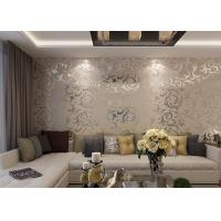 Buy cheap European Retro Flowery Vintage Wallpaper /  Wallpaper For House Walls , 0.7*8.4m product