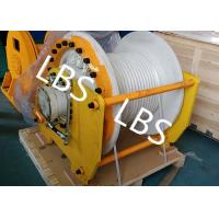 Buy cheap Large Capacity Hydraulic Mooring Winch For Boat / Truck / Trailer / Bulldozer product