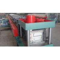 Buy cheap Width 100 - 300mm Z Type Purlin Cold Roll Forming Machine For Exhibition Building product