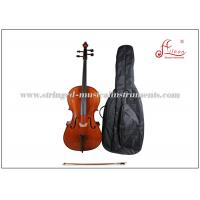 Buy cheap Solid maple Musical Instrument Cello Hand Carved Ebony Solidwood Student Cello product