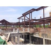 Prefabricated Building Steel Frame For A Structure Steel Hotel