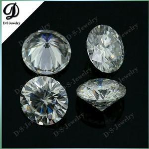 Buy cheap O diamante branco sintético redondo de Moissanite afrouxa a pedra product