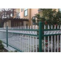 Buy cheap Euro Style Tubular Zinc Steel Fence Powder Coated For School , Convenient Install product