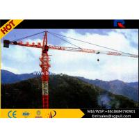 Buy cheap Building Tower Crane Self - Erecting Hammer Head With Electric Box Schneider product