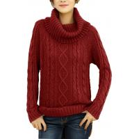 Buy cheap Loose Fit Fashion Pullover Sweaters Grey Knitted Jumper Customized Size product