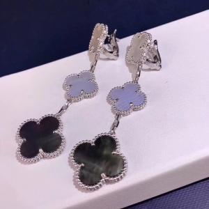 Buy cheap Van Cleef & Arpels 18K Gold Diamond Earrings / Magic Alhambra Earrings With Gemstone product