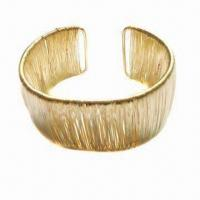 Buy cheap Fashionable Bangle, Made of Metal, Customized Designs and Specifications are Welcome product