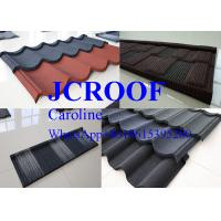 China Bent Tiles Steel Corrugated Roofing Sheets Soncap / BV / SGS Certificate on sale